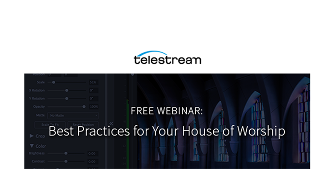 Webinar – Best Practices for your House of Worship
