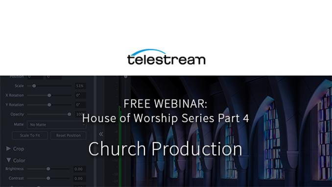 Webinar – Church Production