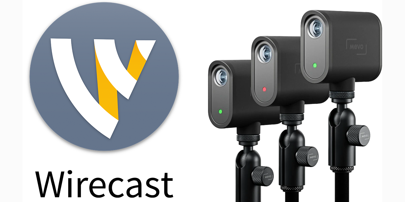How to add a MEVO Start camera into Wirecast live streaming software using NDI